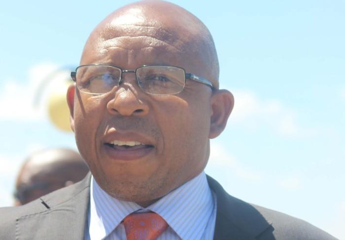 Minister of Finance Dr. Moeketsi Majoro